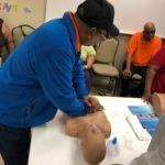 October CPR training