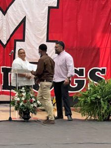 Quintavious Provy is awarded 2021 Scholarship award