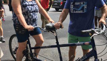 Tandem Bike Carter Center